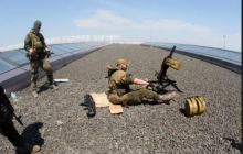 """ОБСЕ: боевики """"ДНР"""" используют крыши гражданских домов для ведения обстрелов"""