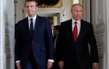 Le Monde: Поговорив с Путиным об отравлении Навального, Макрон начал готовить с Берлином санкции