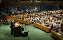 Полупустой зал на выступлении Лаврова: фото реакции мирового сообщества на МИД РФ в ООН взорвало Сеть