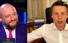 """""""Он еще что-то рассказывает"""", - Гончаренко резко ответил Добкину в прямом эфире, видео"""