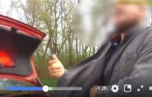 """В Черновицкой области пьяный священник не хотел дуть в """"драгер"""" и предложил патрульным """"откупиться"""" молебном - кадры"""