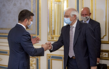 """Боррель раскрыл подробности беседы с Зеленским: """"Сказал ему, что ЕС - не банкомат"""""""