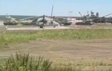 Пропагандист Сладков показал огромное скопление боевой техники РФ на границе Украины, оккупант готовится