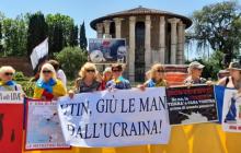 В Риме Путина ждал позор от украинцев
