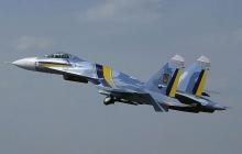 """Украинский СУ-27 сумел одержать блестящую победу над истребителем США F-15C в рамках учений """"Чистое небо 2018"""" - кадры"""
