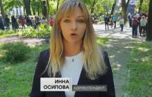 """""""В клетку"""", - по Киеву разгуливали российские пропагандисты, снимая сюжеты"""