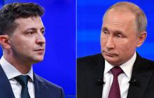 """У Путина объяснили, почему не поздравили Зеленского с Новым годом: """"Не всех сразу"""""""