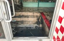 В магазине Кременчуга мужчина заживо сжег бывшую супругу, заперев перед этим двери