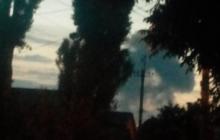 Видео после мощного взрыва в Донецке