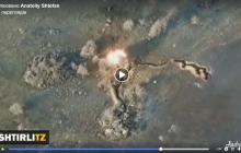 "Видео разгрома блиндажа ""ДНР"": батальон ""Азов"" отправил боевиков в глубокий ""нокаут"" одним ударом"
