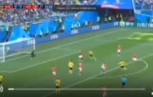Матч Швеции и Швейцарии на ЧМ: видео единственного гола, который решил исход поединка - кадры
