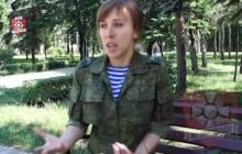 """Командирша """"Востока"""" жалуется, что Донецк """"прозрел"""": """"Нас ненавидят, в форме на люди выйти невозможно"""", - кадры"""