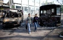 Горсовет Донецка сообщает об относительно спокойной обстановке в городе