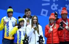 """Двукратная чемпионка Паралимпиады Оксана Шишкова посвятила медали бойцам АТО: """"Спасибо вам! Мы  доказываем, что Украина сильная!"""" – кадры"""