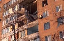 Новые разрушения в Донецке: под обстрелом Петровский район
