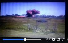 ВСУ точным выстрелом ПТРК разнесли в щепки ДОТ боевиков на Донбассе - видео мощного взрыва