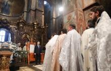 Впечатляющая речь Порошенко в Софийском соборе: видео с заявлением о Томосе вызвало ажиотаж в соцсетях