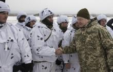 """""""Мы готовы встретить врага"""", - Порошенко оценил дисциплину и мастерство ВСУ во время учений на Черниговщине - кадры"""