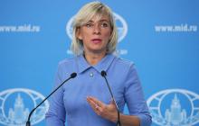 Захарова бросилась оскорблять Украину: поступок жителей Одессы разозлил россиянку