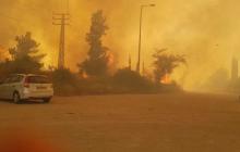 Огненный ад бушует в Израиле, это похоже на конец света - подробности и страшные кадры