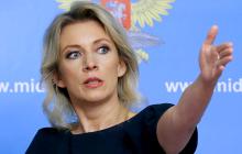 """""""Дикие телодвижения"""", - Захарова язвительно отреагировала на запрет въезда в Украину российским мужчинам"""
