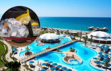 """""""Голодные"""" российские туристы опозорились в отеле Турции на крупном воровстве - кадры"""