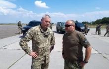 Единый кулак освобождения Донбасса: Ярош и Наев провели знаковую встречу в 100 км от Донецка - кадры