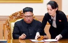 Ким Чен Ын впал в кому: часть его полномочий возложено на сестру Ким Йо Чжон