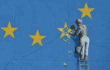 Таинственный британский художник оригинально отреагировал на Brexit огромной картиной