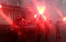 """В Кременчуге акция протеста """"Национального корпуса"""" переросла в масштабную драку с полицией, есть задержанные, - подробности и кадры"""