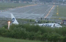 Заполненный пассажирами Boeing вспыхнул как спичка: появились кадры громкого ЧП в аэропорту Сочи