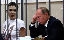 Чтобы объяснить освобождение Савченко, у Путина устроили циничный спектакль с вдовами убитых на Донбассе журналистов