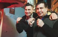 Кличко и Саакашвили объединяют силы – появились детали будущего союза