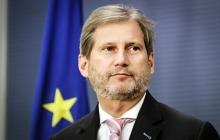 Еврокомиссар Хан сделал сильное заявление о вступлении стран в Евросоюз