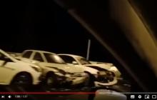 Крымский мост парализован, движение заблокировано: очевидец показал видео начала крупных проблем