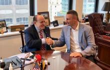 После встречи Кличко с друзьями Трампа Богдан подал в отставку - документ