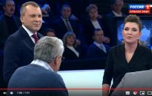"""""""Отключить Украине газ к чертовой матери!"""" – видео, как Гозман довел Скабееву до скандала одной фразой"""