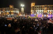 """Так выглядит """"Майдан"""" против """"Союзного государства"""" в Минске - счет протестующих идет на тысячи"""