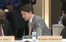 Джастин Трюдо на саммите G20 показал настоящее место Путина: россияне онемели, но сделать ничего не смогли - фото
