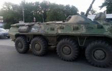 Боевики на БТР разнесли жилой дом в оккупированной Успенке: есть жертвы - кадры