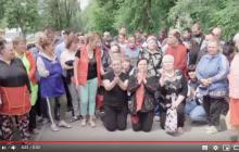 В России жители Самары стали на колени со срочной просьбой лично к Путину - видео потрясло соцсети