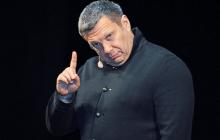 """""""Украины никогда не было"""", - Соловьев вышел из себя, закипев от злости в прямом эфире"""