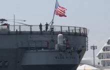 """""""Может нести военный груз для Украины"""", - корабль ВМС США зашел в Черное море и перепугал военных РФ"""