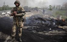 """Боевики """"ДНР"""" сожгли дома мирных жителей, устроив масштабные бои вблизи Донецка"""
