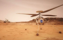 Вертолет для миссии Mars 2020 успешно прошел летные испытания - невероятные кадры