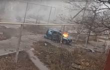 """В Торезе в своем авто взлетел на воздух """"табачный король"""" """"ДНР"""" Шалыгин - инцидент попал на видео"""