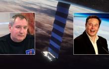 Илон Маск напомнил Рогозину слова о батуте после запуска американского SpaceX и начал смеяться прямо в эфире