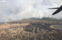 Чернобыль полыхает: в небо подняты самолеты, работают 90 пожарных, много техники