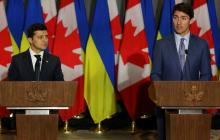 Третий телефонный звонок Зеленского и Трюдо за неделю: в ОП рассказали, что попросил премьер Канады