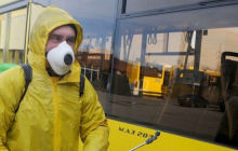 Тернополь вслед за Киевом переходит к жесткому карантину: троллейбусы и автобусы по спецпропускам